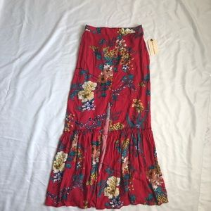 Band of Gypsies Floral Skirt.